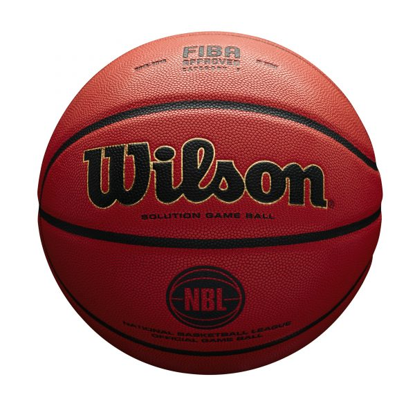 Wilson Solution Official NBL Game Ball